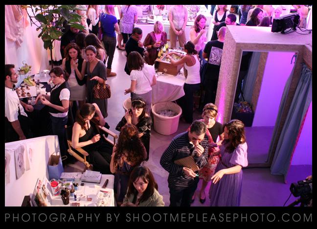 Eco-luxe bridal salon