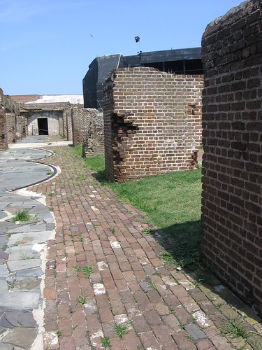 Inside Fort Sumter