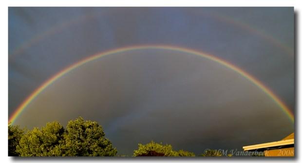 The Most Amazing double Rainbow