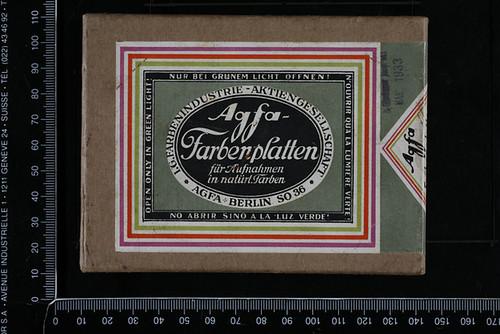 Agfa Farbenplatten