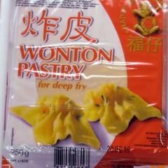 wonton pastry