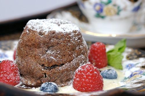 Melting Chocolate Pudding