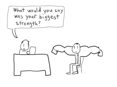 What would you say was your biggest strength?