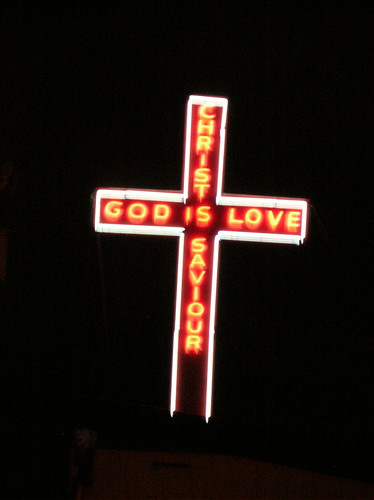 God is Love sign