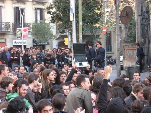 Manifestació Informàtics