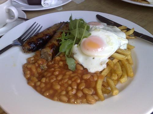 Hangover breakfast...
