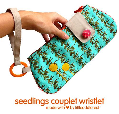 Seedlings Couplet Wristlet