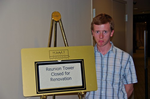 Tower is closed...