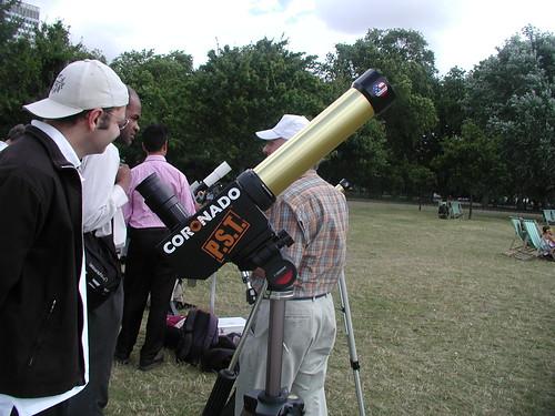 Personal Solar Telescope