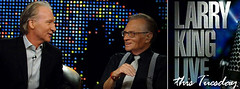 Bill Maher on Larry King Live