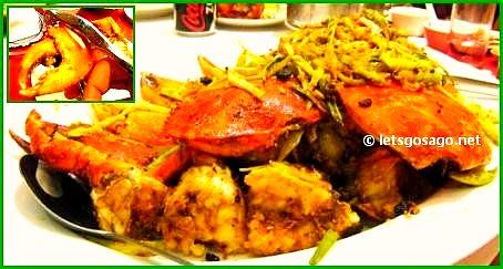 Deep Fried Peppercorn Crabs