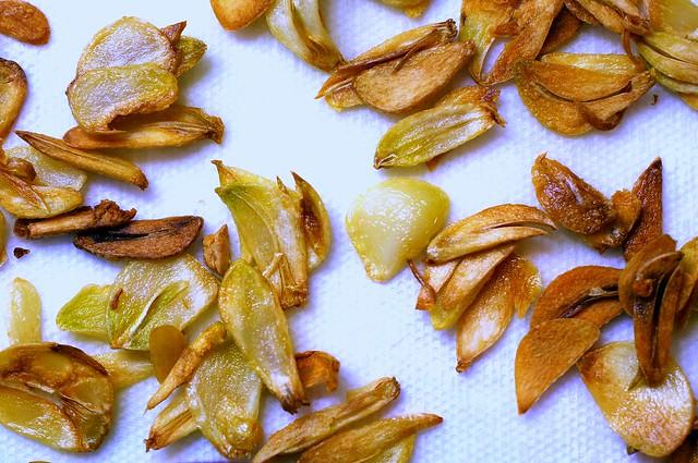 garlic chips