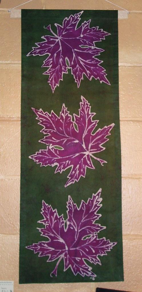 Einahs leaves (14x30)