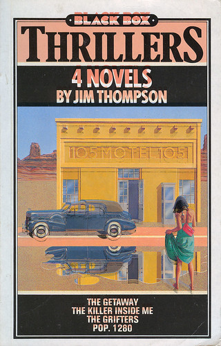 JIM THOMPSON Black Box Thrillers by JL2003.