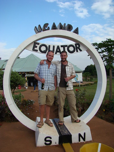 Mark and Mike At The Ugandan Equator