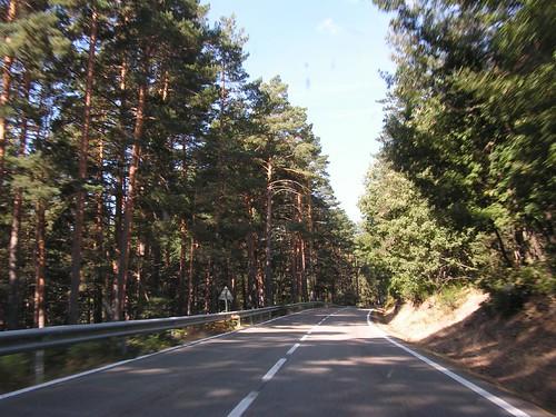 Carretera a las montañas
