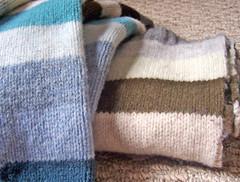 Deconstructed wool Gap sweater