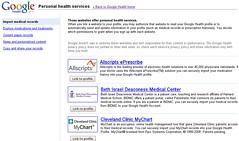 Google Health 17 - Import Medical records