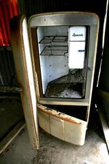 empty fridge