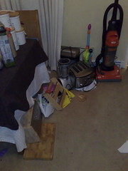 God. The mess. I hate decorating.