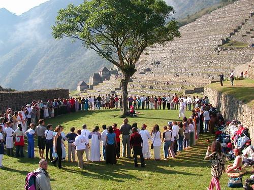 Machu Pichu por Peaksurfer.