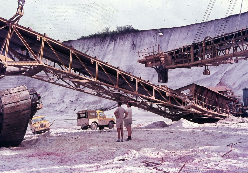 Components of the Wheel Excavator, MacKenzie, British Guiana