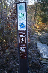 ASP FLT NCT Sign at Trailhead