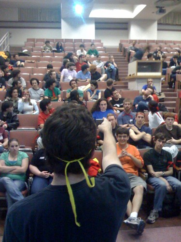 Jared instructs the masses at CtFwS