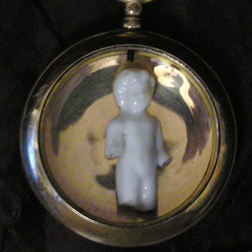 Old Pocket Watch Case