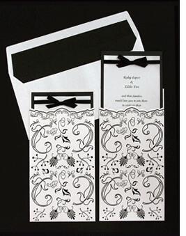 2449927482 61010ef253 Baú de ideias: Decoração de casamento preto e branco