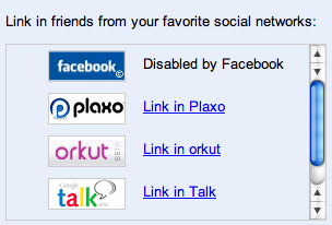 Friend Connect - Disable by Facebook