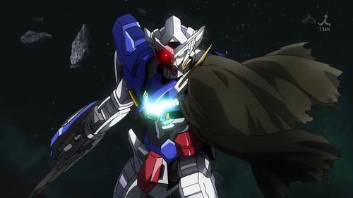 Penampilan Exia pada awal Gundam 00 Season 2