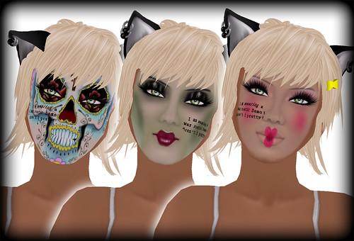 Halloween Skins.. MORE!