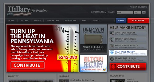 HillaryClinton.com on 2008-03-17
