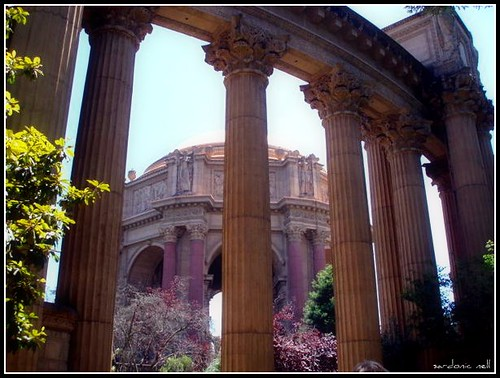 Palace of Fine Arts, SFO