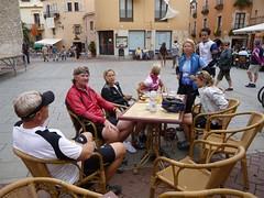 Coffee stop in Begur