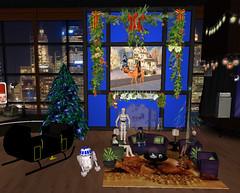 Christmas Decorations on Tonight Live