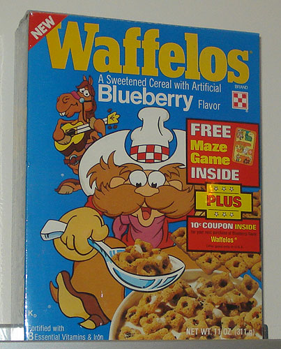 Blueberry Waffleos