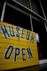 The museum was very much open for business while we were there!