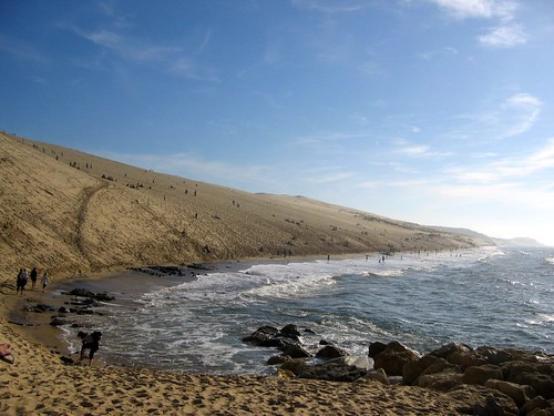 The largest sand dune in Europe!