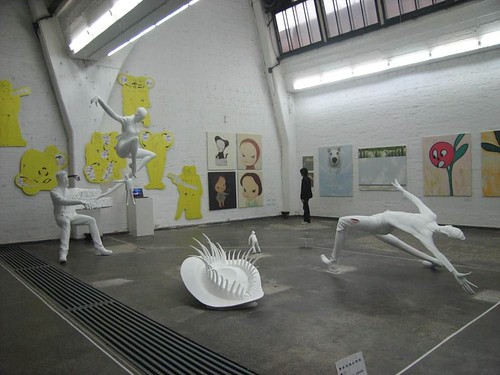 contemporary art, photography and abstract sculpture at Factory 798
