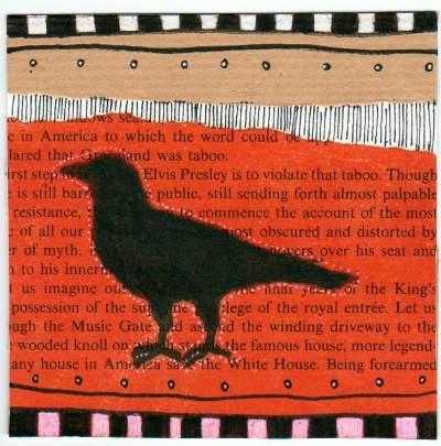 Blackbird Deco Book Page