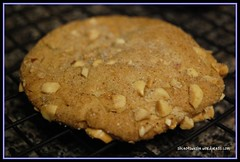 double delight peanut butter cookie after