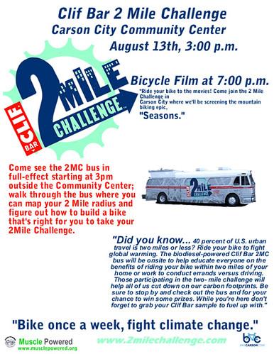 Clif Bar 2 Mile Challenge