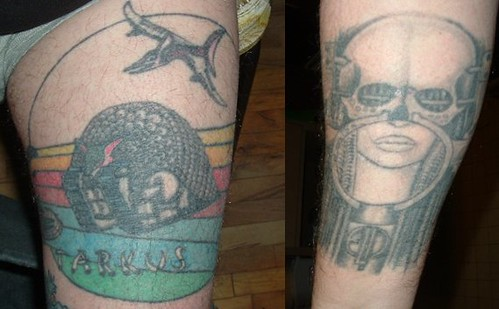 You've got several ELP tattoos!