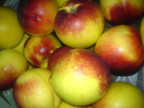 Juicy peaches from Sapa - Vietnam