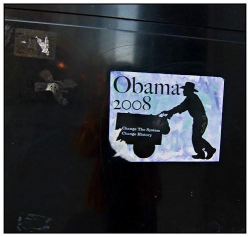 Obama 2008 - Pilsen Paletero