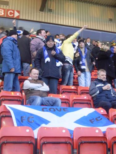 Cove Rangers fans