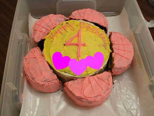 Fourth Birthday cake