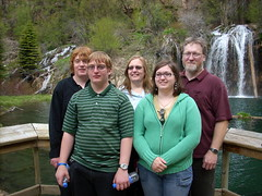 My family at hanging lake.